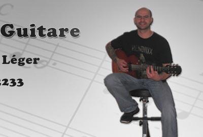 Cours de guitare rive-sud