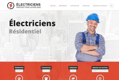 Électricien Rive-Sud : trouvez un électricien